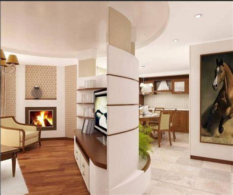 mobile für wohnzimmer kamin raumteiler idee