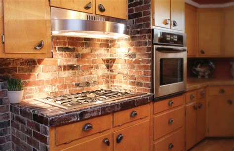 kitchen backsplash brick brick driveway image brick backsplash