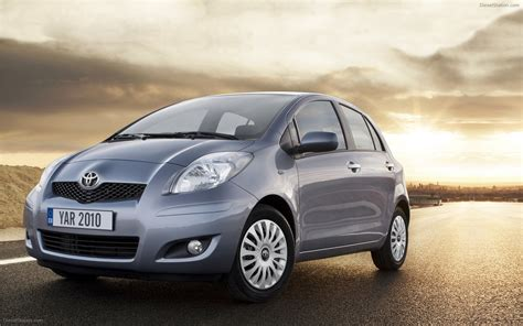 2010 Toyota Yaris Fuel Economy Toyota Yaris 2010 Widescreen Car Picture 07 Of 28
