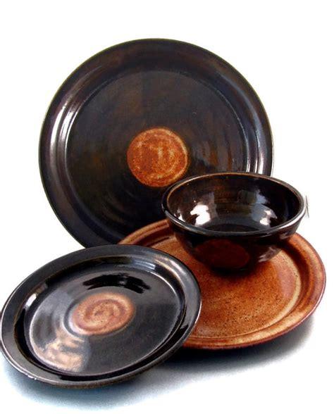 Handmade Stoneware Dinnerware Sets - ceramic dinnerware sets handmade dishes plates and bowls