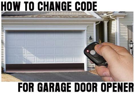 how to change reset the code for your garage door opener us3