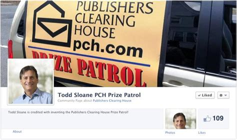 Pch Prize Patrol Facebook Page - todd sloane prize patrol joins facebook the gang s all here pch blog