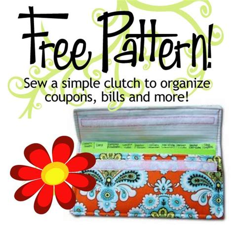 coupon holder pattern free coupon organizer pattern this is really easy sewing