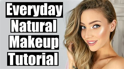 natural everyday makeup tutorial for school everyday natural makeup tutorial stephanie lange youtube