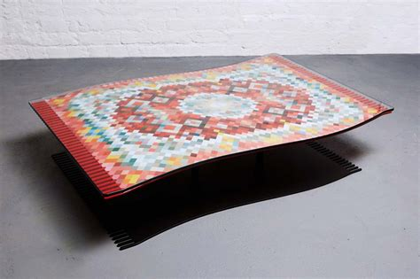 flying carpet coffee table the awesomer