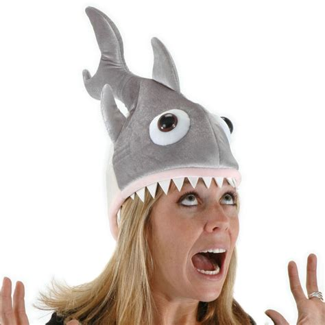 elope man eatin shark hat novelty hats view all