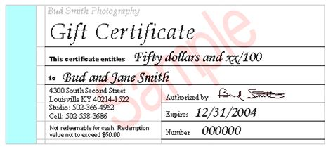 sle graduation certificate gift certificate template for photographers gift ftempo