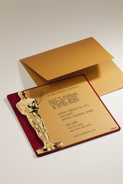 academy awards printable themed card template 17 best images about oscar on reels