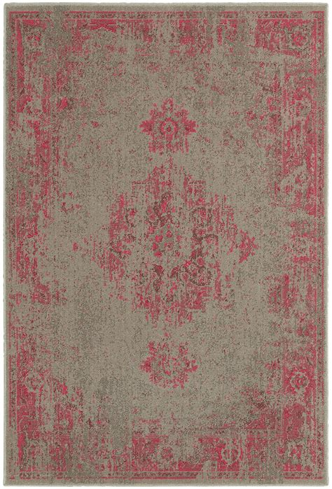 gray and pink rug pink gray faded rug woodwaves