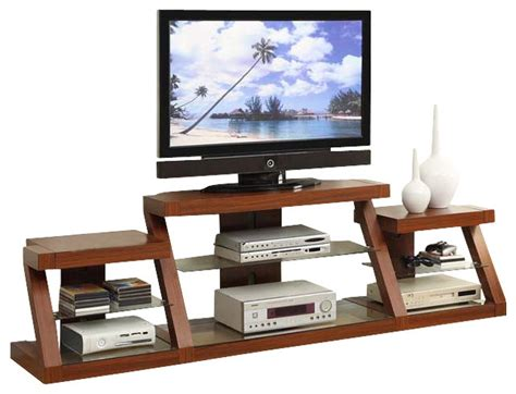 oak entertainment center multi level tv stand w side