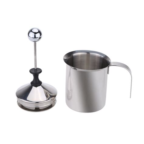400ml 800ml stainless steel double mesh milk frother milk 400ml milk frother machine stainless steel coffee maker