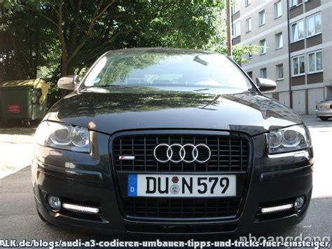Chromleisten Lackieren Oder Folieren by Nachr 252 Sten Tagfahrlicht Dectane Led Gx Am Audi A3 8pa