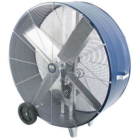 used big fan big air 42 quot industrial drum fan ebay