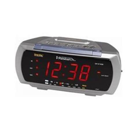 emerson smartset auto time set dual alarm clock radio