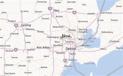 novi weather station record historical weather for novi