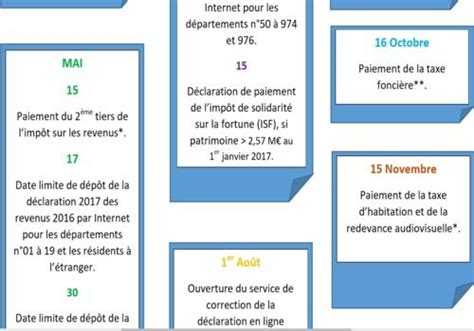 Calendrier Impots 2017 T 233 L 233 Charger Calendrier Fiscal 2017 Pour Windows Freeware