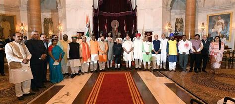 Present Cabinet Ministers by Cabinet Reshuffle 19 New Mos Javadekar Gets Elevated 5