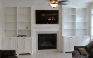 Built In Bookcase Fireplace by Best 20 Bookshelves Around Fireplace Ideas On