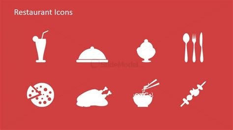 powerpoint restaurant menu template restaurant icon clipart for powerpoint slidemodel