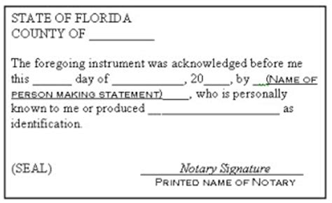 Best Photos Of Wording For Notarizing A Signature Wording For Notary Signature Witness Sle Notary Block Template