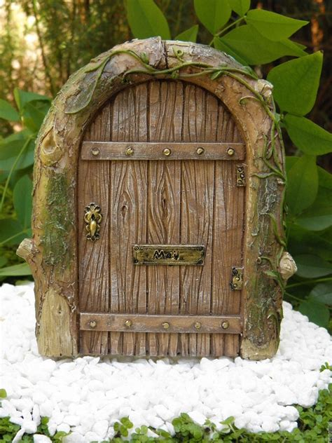 fairy door miniature dollhouse fairy garden gnome resin mystical