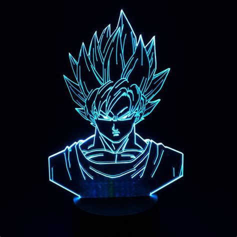 dragon ball z led l boutique le manga le de bureau mangas acheter