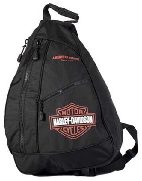 harley davidson bar shield sling backpack bp1957s orgblk ebay