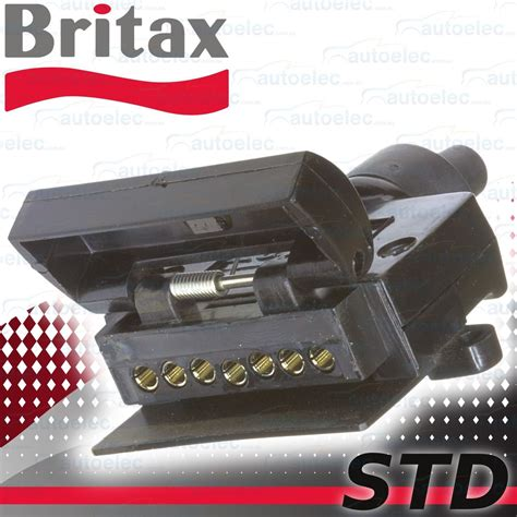 britax 7 pin flat trailer socket connector car