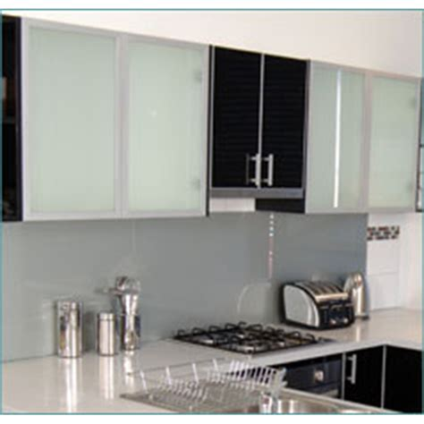frosted glass doors for kitchen cabinets kaboodle 400mm frosted glass cabinet door bunnings warehouse