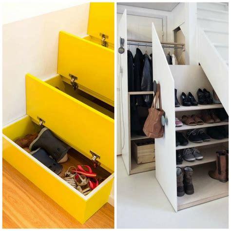 Meubles Sous Escaliers by Rangement Chaussures Sous Escalier C Est Pratique