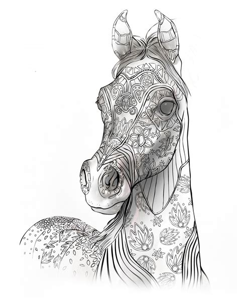 Coloring Pages Of Horses And Foals by Coloring Page Http Coloring2pagescom Coloring