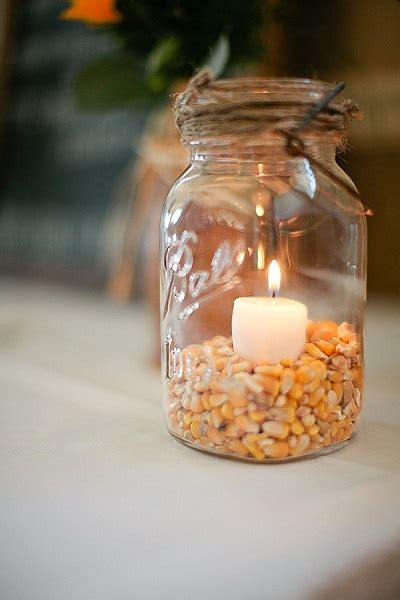wedding centerpieces with jars and candles 23 vibrant fall wedding centerpieces to inspire your big day