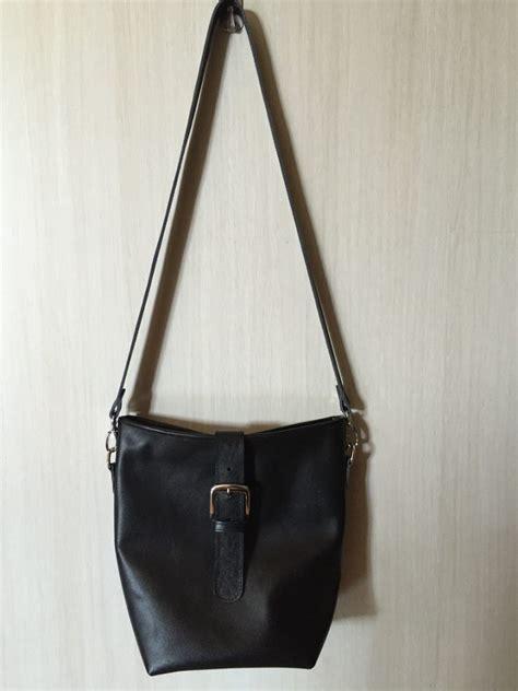 tas kulit asli selempang genuine leather sling bag