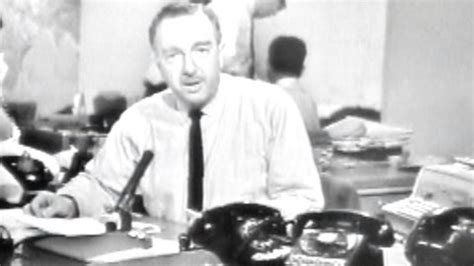 50 years ago today walter cronkite signed on tvnewser on 50th anniversary cbs honors cronkite s fairness and
