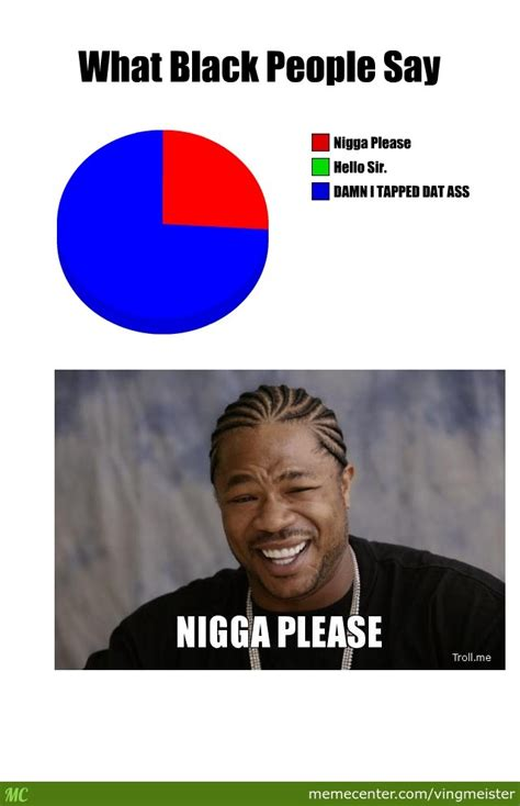 Im White Meme - what black people say not racist cause im black by