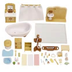 calico critters bathroom set calico critters deluxe bathroom set target