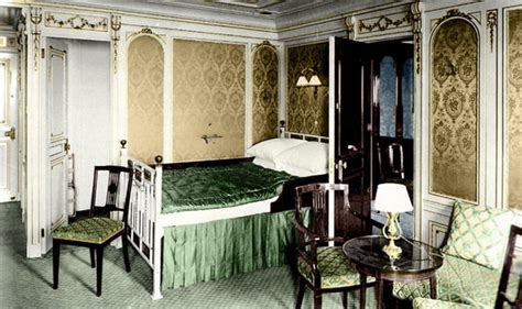 Titanic Bedroom Theme by The Titanic In Colour Amazing Images Bring Historic