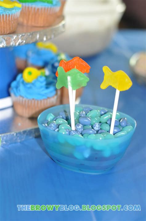 Fish Themed Baby Shower by The Browy Fishy Theme Baby Shower