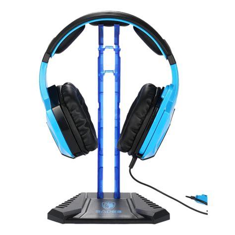 Sades Universal Gaming Headphone Hanger sades gaming headphone stand earphone display rack headset hanger l3 ebay