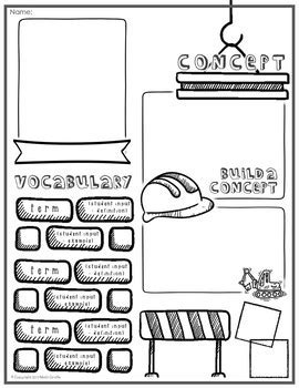 doodle for template editable doodle note templates set 2 by math giraffe tpt