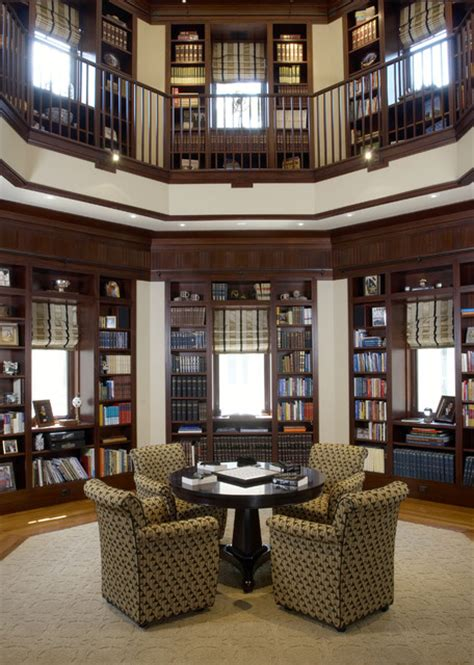 home office library houzz woodley house library traditional family room