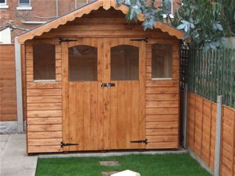 Decorated Garden Sheds by Decorative Garden Shed Made By West Lancs Sheds