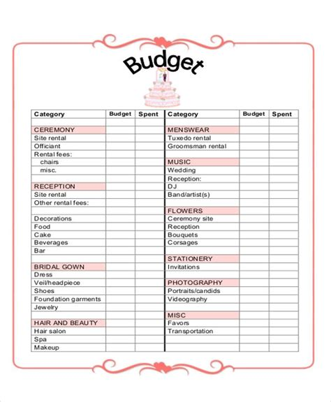 free online printable wedding planner free printable wedding checklist for wedding planning