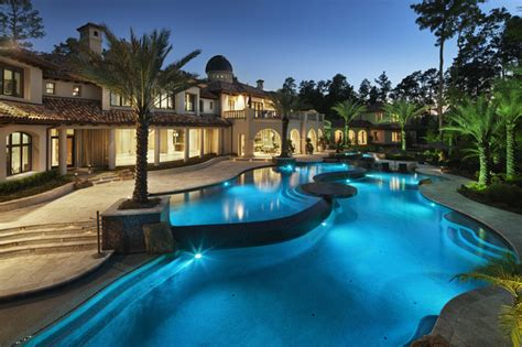 le de piscine led italian modern mediterranean pool by jauregui architecture interiors construction