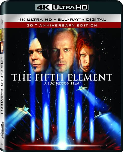 film blu ray uhd the fifth element dvd release date december 10 1997