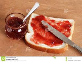 Kitchen Design App Free bread and jam with knife stock photos image 10428273