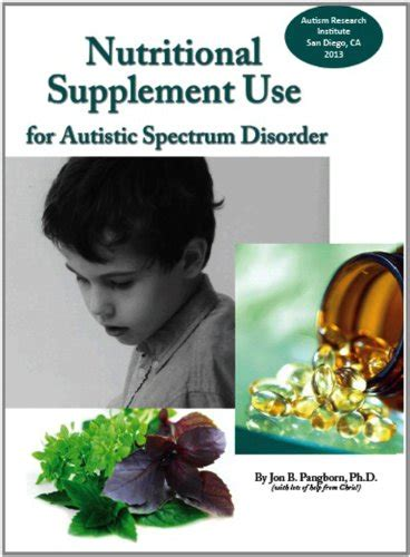 supplement use nutritional supplement use for autistic spectrum disorder