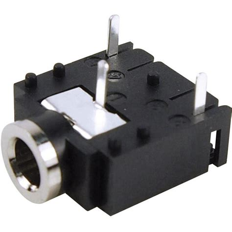 3 5 mm audio socket horizontal mount number of pins