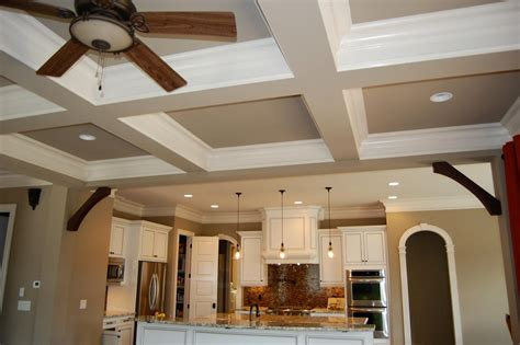 Coffered Ceiling Kits by Poythress Homes Website
