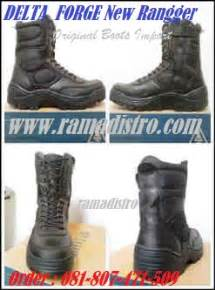 Sepatu Boot Maxi Black Pasir jual sepatu import delta forge new rangger black colour